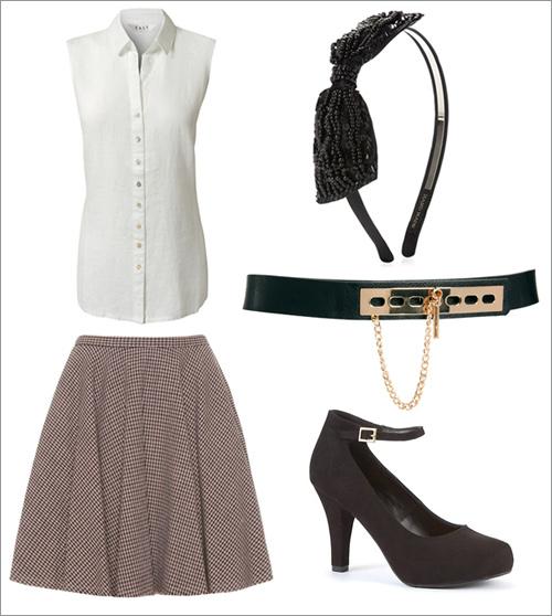 3 phong cách với kiểu váy xòe ấn tượng - 9