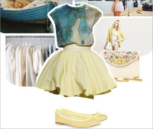3 phong cách với kiểu váy xòe ấn tượng - 3