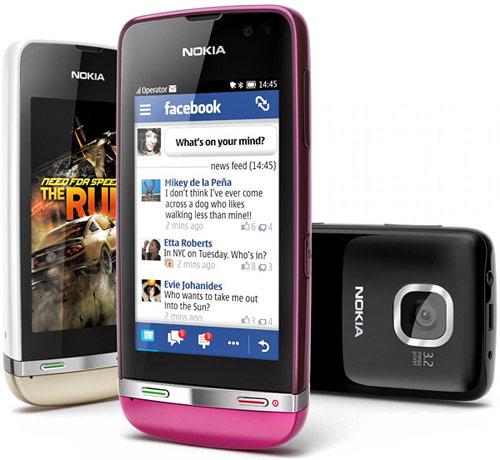 Nokia Asha 311, cảm ứng giá 2,7 triệu đồng - 1