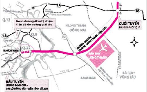 Cao tốc TPHCM - Long Thành - Dầu Giây lỗi hẹn - 1