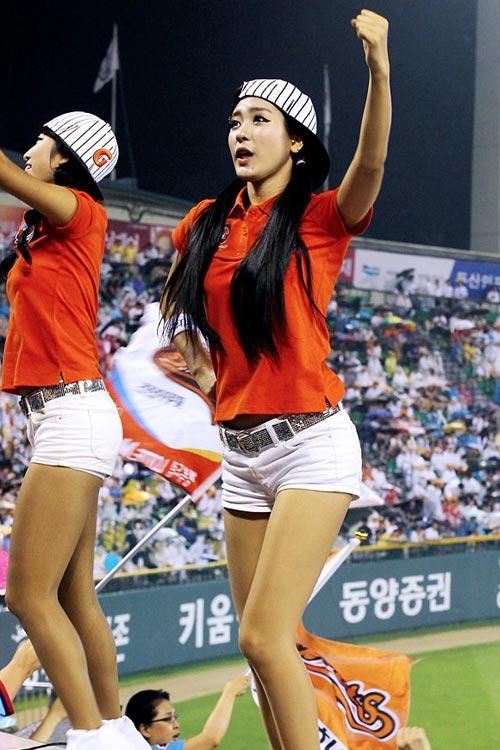 """Những """"quả bom"""" gợi cảm từ sân bóng Hàn - 1"""