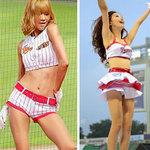 """Thời trang - Những """"quả bom"""" gợi cảm từ sân bóng Hàn"""