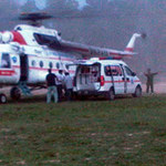 Tin tức trong ngày - Hà Tĩnh: Thuê trực thăng cấp cứu vẫn mất chân