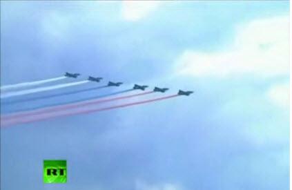 Hoành tráng lễ kỷ niệm 100 năm Không quân Nga - 1