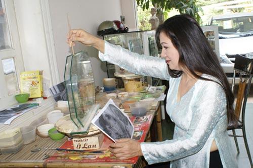Người sáng tạo tranh cát đầu tiên tại Việt Nam - 1