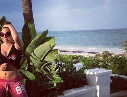 Mariah Carey hạnh phúc bên 2 con - 3