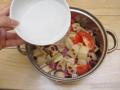 Bò kho củ sen thơm nức đưa cơm - 8