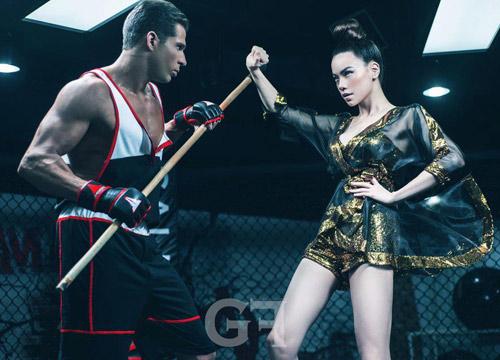 Kiều nữ Việt bốc lửa trên sàn boxing - 4