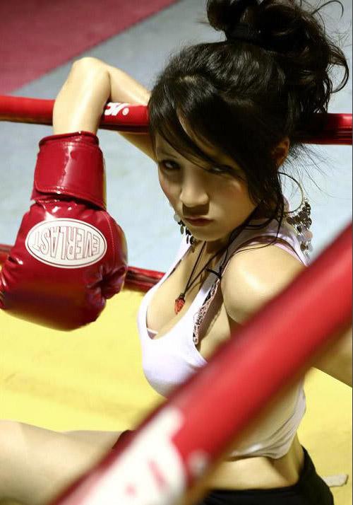 Kiều nữ Việt bốc lửa trên sàn boxing - 7