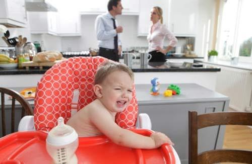 Cha mẹ cãi nhau ảnh hưởng tới não bộ của trẻ - 1