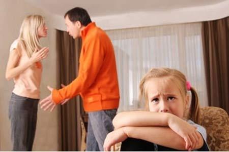 Cha mẹ cãi nhau ảnh hưởng tới não bộ của trẻ - 2