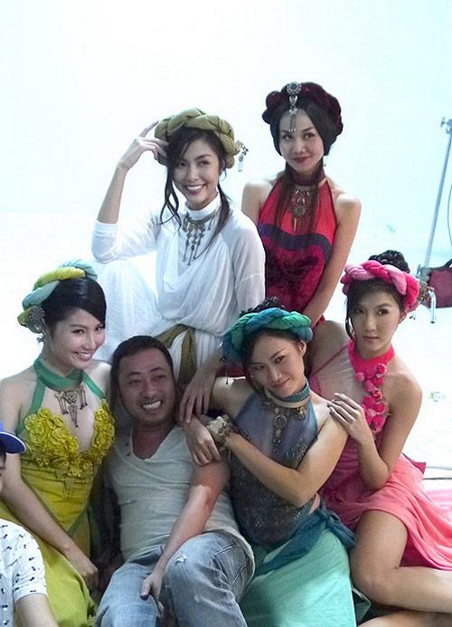 Người đẹp Việt sexy nóng bỏng trên phim - 9