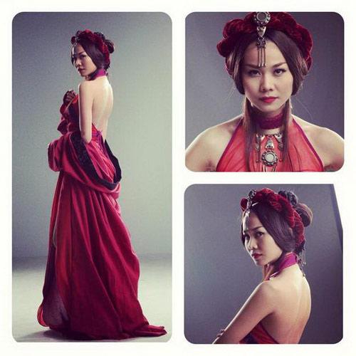 Người đẹp Việt sexy nóng bỏng trên phim - 8