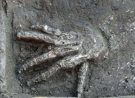 Phát hiện 16 bàn tay gần 3.600 tuổi ở Ai Cập - 1