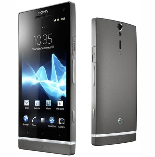 Sony Xperia S màu bạc ra mắt - 1