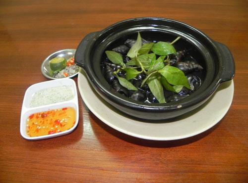 Những món ngon từ ốc cà na - 1