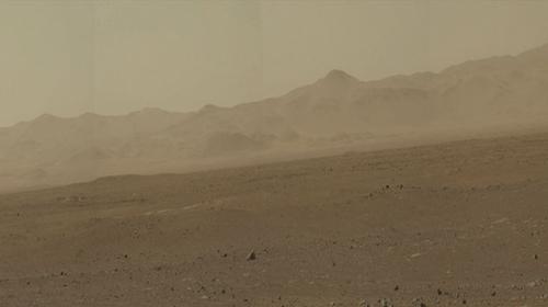 Tàu Curiosity gửi ảnh sao Hỏa phân giải cao - 1