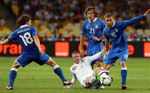 Anh – Italia: Phiên bản Euro tập 2 - 1