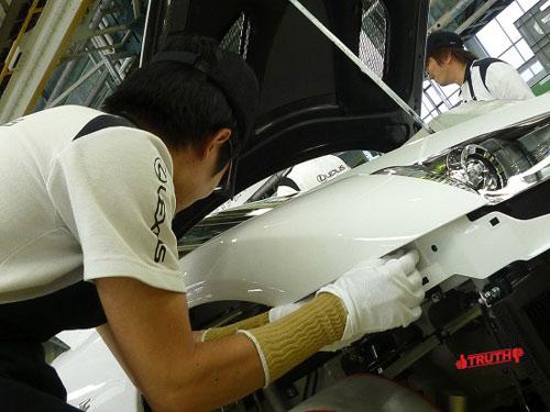 Khám phá nhà máy sản xuất  Lexus LFA (Kỳ I) - 2