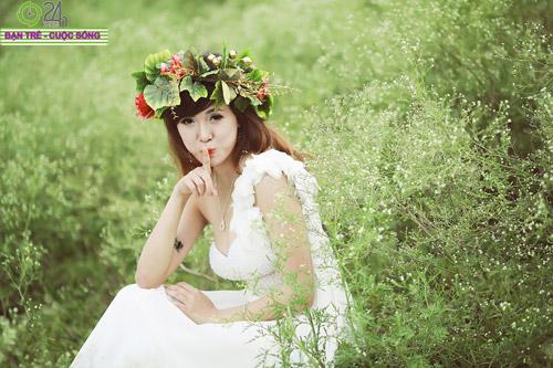 Hot girl Mai Thỏ hóa thành tiên nữ - 10