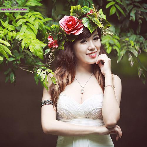 Hot girl Mai Thỏ hóa thành tiên nữ - 19