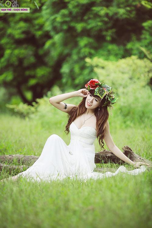 Hot girl Mai Thỏ hóa thành tiên nữ - 14
