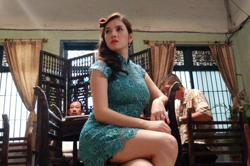 Lộ ảnh Lý Nhã Kỳ trong phim mới - 7