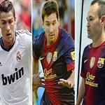 Bóng đá - Cầu thủ số 1 châu Âu: CR7, M10 hay Ini?