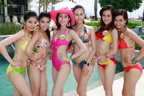 Thí sinh Hoa hậu Việt Nam đọ chân dài - 7