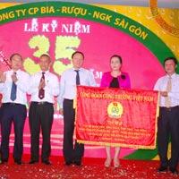 Bia Sài Gòn - Niềm tự hào của người Việt