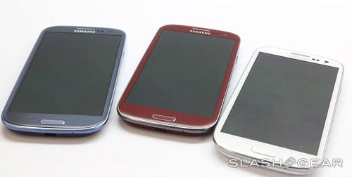 Cận cảnh Galaxy S III màu đỏ - 1