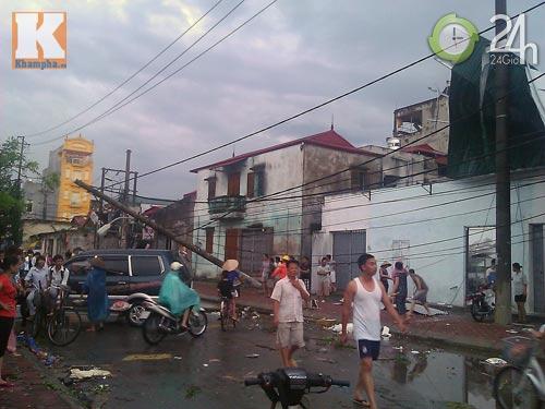 Bão số 5 đổ bộ, Hà Nội lại mưa ngập - 8