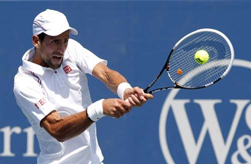 Cilic - Djokovic: Hạ gục nhanh (Video tứ kết Cincinnati Masters) - 1