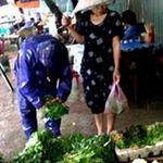 Thị trường - Tiêu dùng - Mưa bão: Giá thực phẩm tại Hà Nội vẫn ổn định