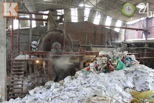 Rùng mình công nghệ sản xuất giấy ăn - 11