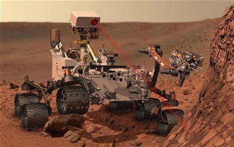 Tàu thăm dò sao Hỏa gặp sự cố đầu tiên - 1