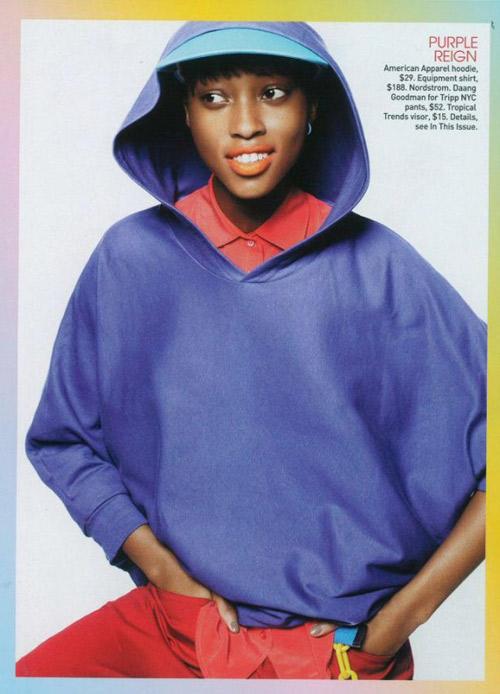 "Ngắm ""Naomi Campbell"" tuổi 17 - 1"
