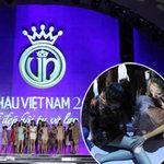 Thời trang - Thí sinh Hoa hậu ngã nhào trên sân khấu