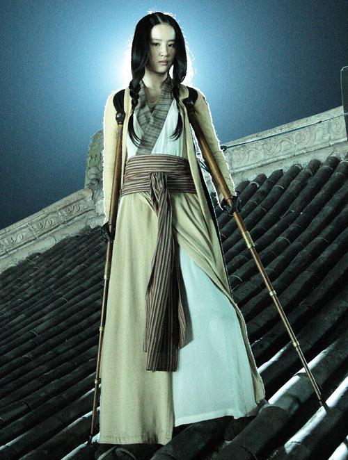 Lưu Diệc Phi thoát bóng Tiểu Long Nữ - 3