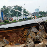 Tin tức trong ngày - Hố tử thần ở Hà Nội nằm trên họng núi lửa cổ?