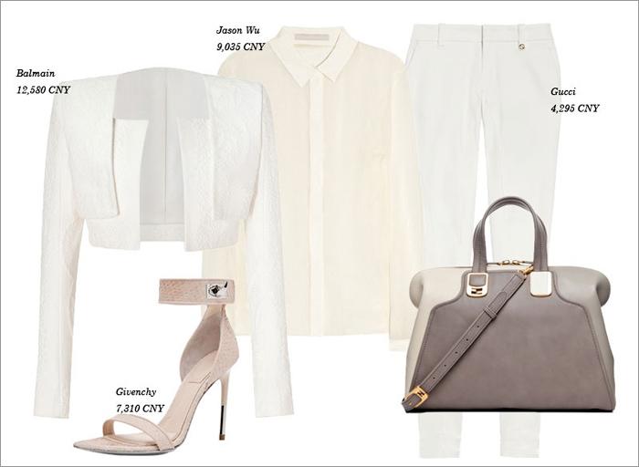 Thu tinh khôi với trang phục màu trắng - 10
