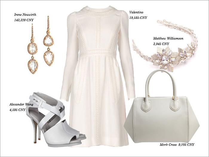 Thu tinh khôi với trang phục màu trắng - 2