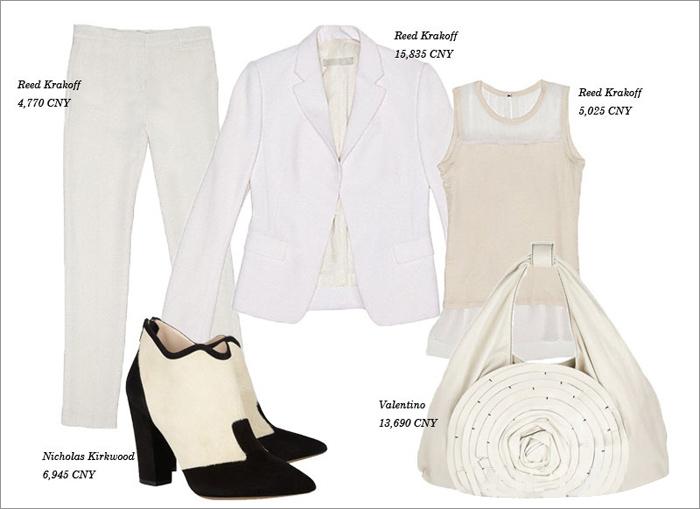 Thu tinh khôi với trang phục màu trắng - 4