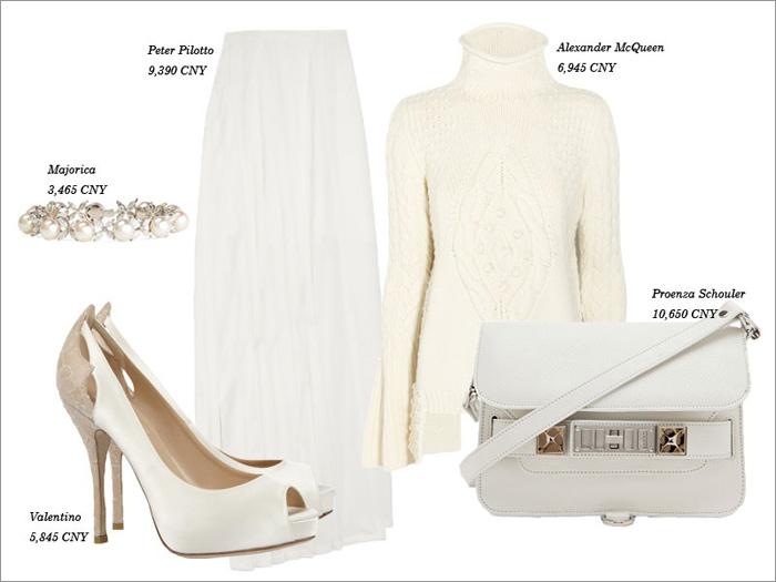 Thu tinh khôi với trang phục màu trắng - 6