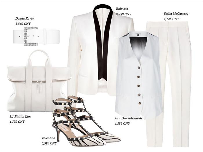 Thu tinh khôi với trang phục màu trắng - 8