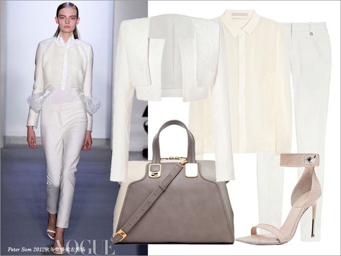 Thu tinh khôi với trang phục màu trắng - 9