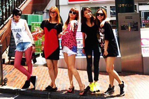 Tháng 11, Wonder Girls sang Việt Nam - 3