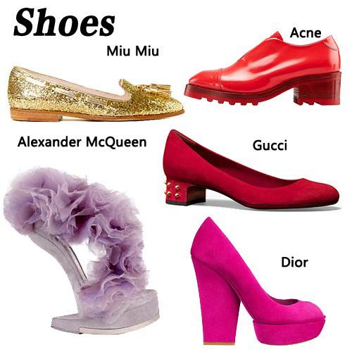 Những mẫu giày tuyệt đẹp cho thu 2012 - 1