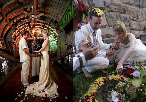 Ảnh cưới tại 22 nước của cặp đôi Anh - 2
