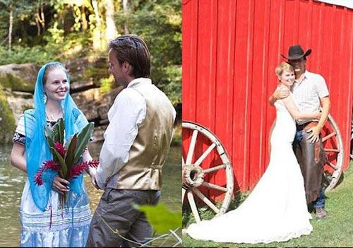 Ảnh cưới tại 22 nước của cặp đôi Anh - 8